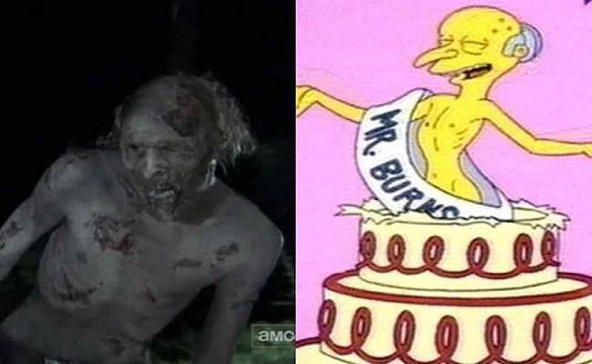 Â¡Los ZOMBIES de The Walking Dead muy parecidos a FAMOSOS! - CABROWORLD