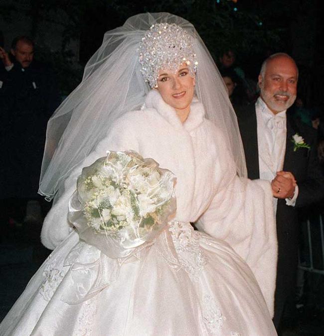 Vestidos de novia de cantantes famosas