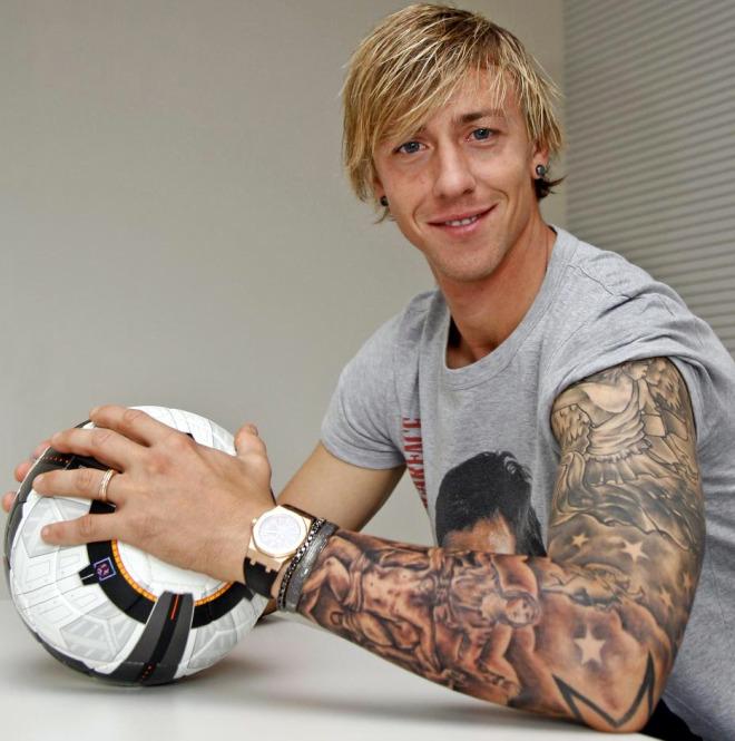 Tatuajes Futboleros top 10 futbolistas más adictos a los tatuajes - goladicto