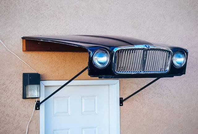 Original mobiliario fabricado con partes de coches - Decoracion interior coche ...