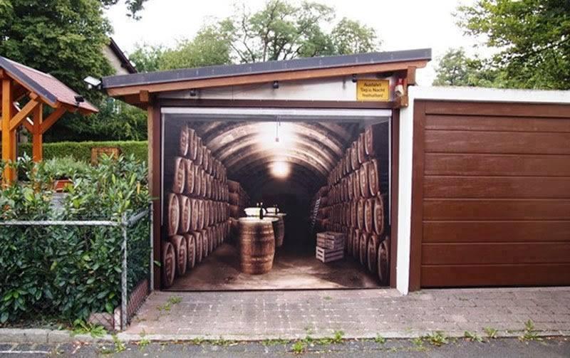 Top puertas de garajes muy originales cabroworld for Garajes originales