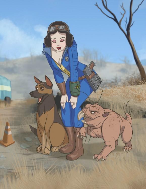 Princesas-de-Disney-como-personajes-de-Fallout-1-579x750