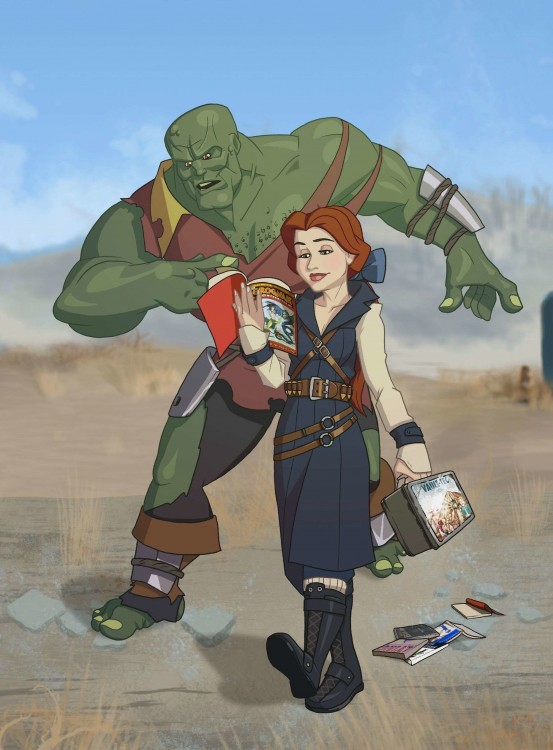 Princesas-de-Disney-como-personajes-de-Fallout-2-553x750