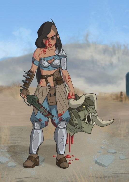 Princesas-de-Disney-como-personajes-de-Fallout-3-533x750