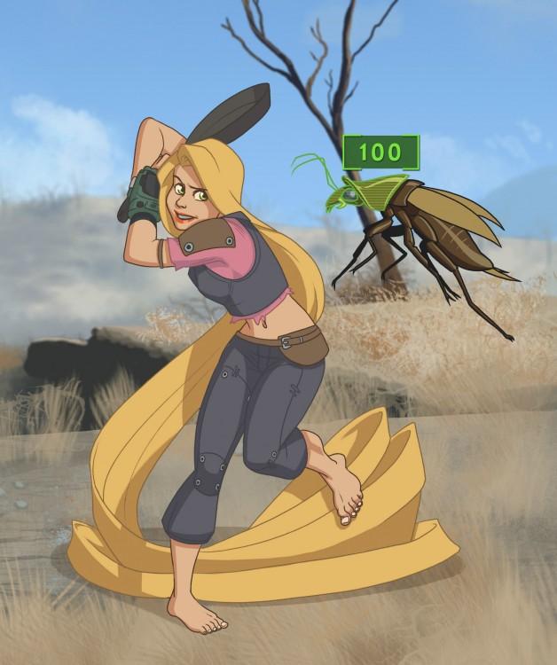 Princesas-de-Disney-como-personajes-de-Fallout-6-628x750