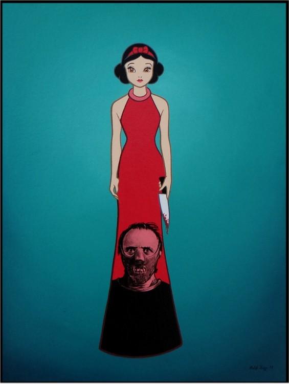 Princesas-de-Disney-con-villanos-del-cine-4-565x750
