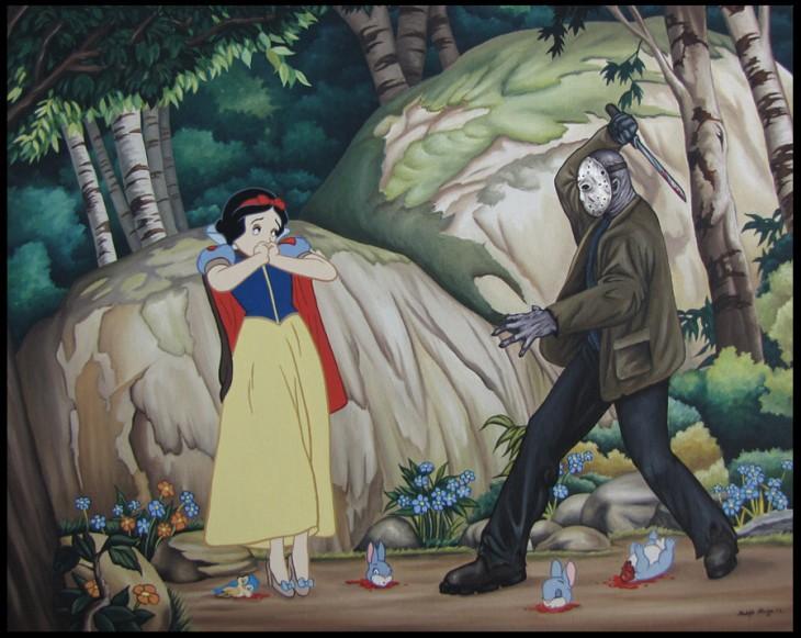 Princesas-de-Disney-con-villanos-del-cine-7-730x581