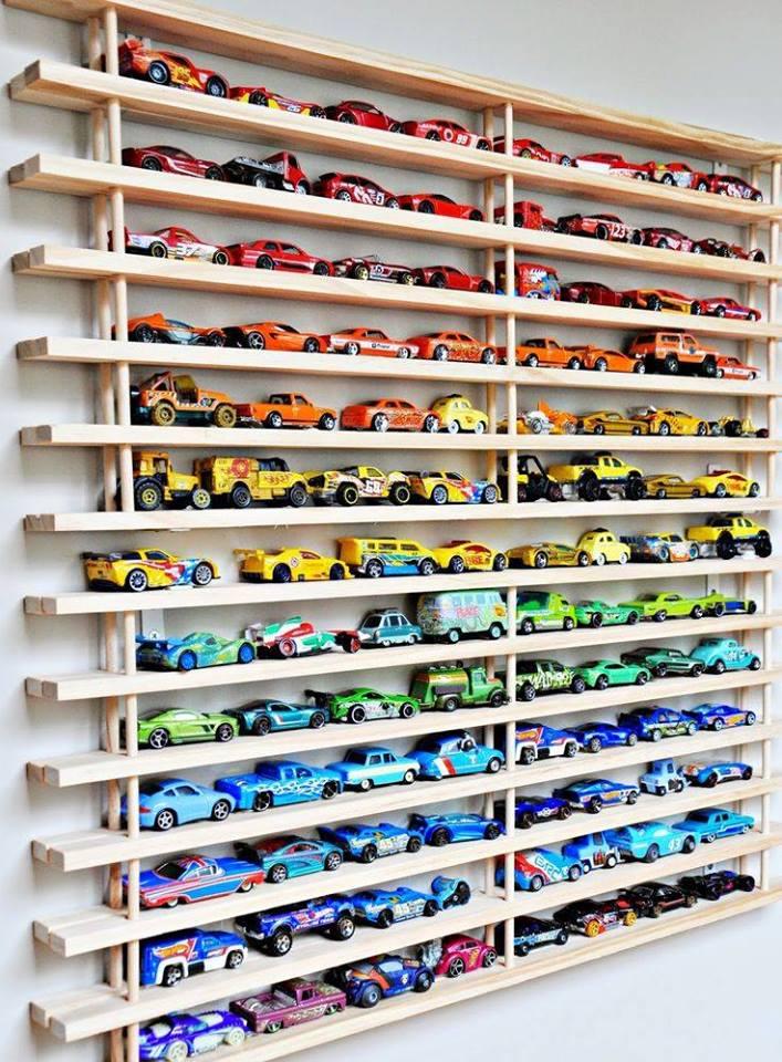 Sew A Toy Car Holder : Top ideas y organización de colecciones mini coches