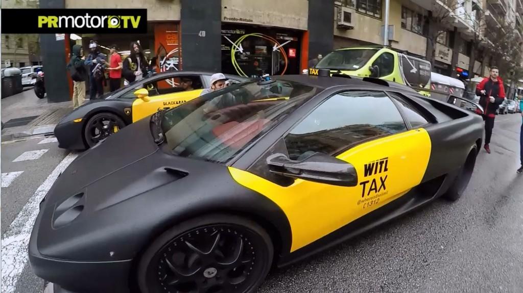 Lamborghini Taxi Barcelona - CABROWORLD