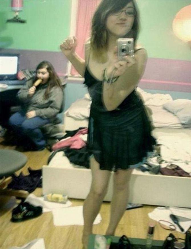 Cuando el espejo te traiciona ...WTF!
