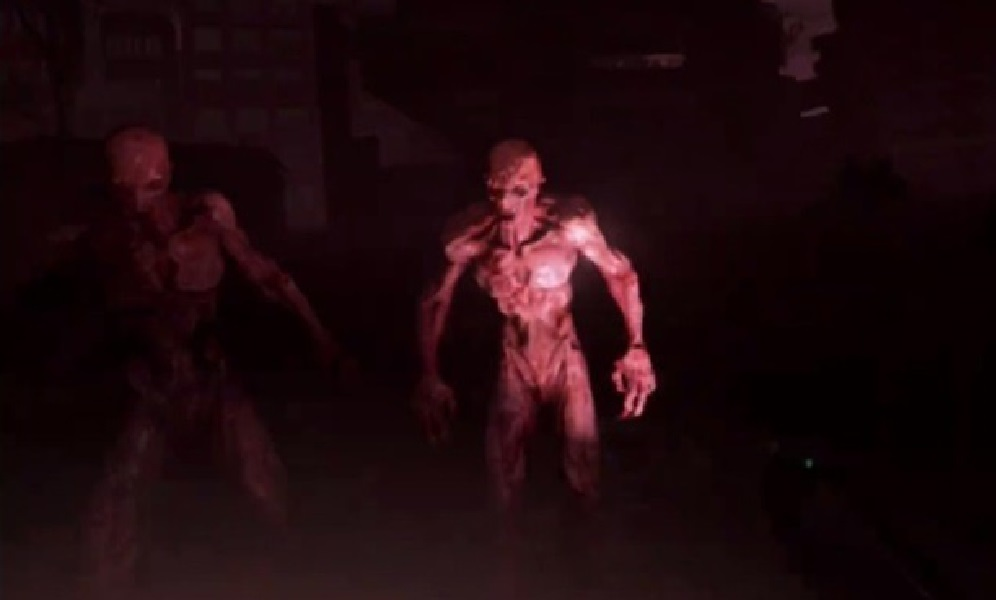 """A un abuelo le regalan una """"experiencia virtual"""" con ZOMBIES... Â¡Se queda sin balas y se defiende de los zombies a MANOTAZOS! - CABROWORLD"""