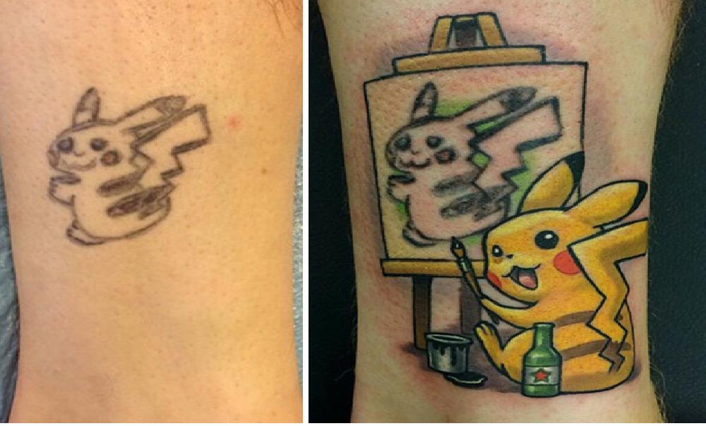 Top 21 Personas Que Decidieron Arreglar Sus Horribles Tatuajes De