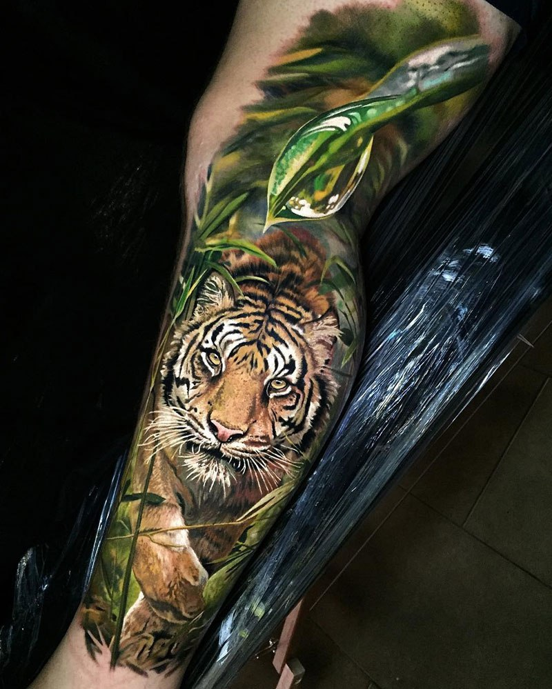 Tatuajes hiperrealistas no sabr s si es una foto o un for Best place in the world to get a tattoo