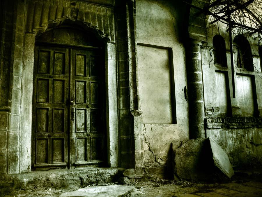 Vista de la entrada de la Casa de la Tía Toña en la Ciudad de México