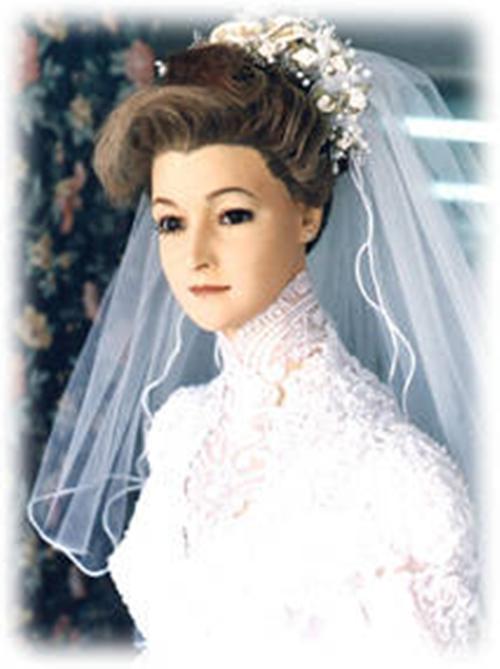 Historia del maniqui vestido de novia