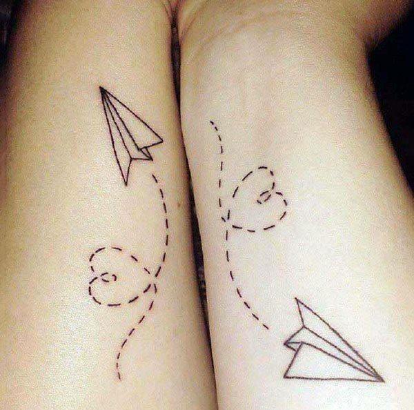 TOP 21 Geniales tatuajes para hacerse entre hermanos CABROWORLD