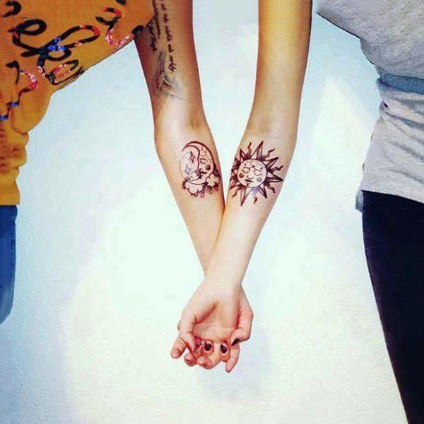 Tatuajes Compartidos Para Parejas Imagenes top: 21 geniales tatuajes para hacerse entre hermanos - cabroworld