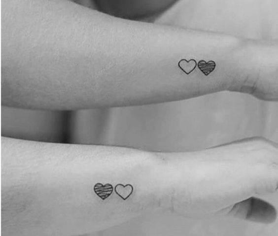 Tatuajes Pequeños Hermanas top: 21 geniales tatuajes para hacerse entre hermanos - cabroworld