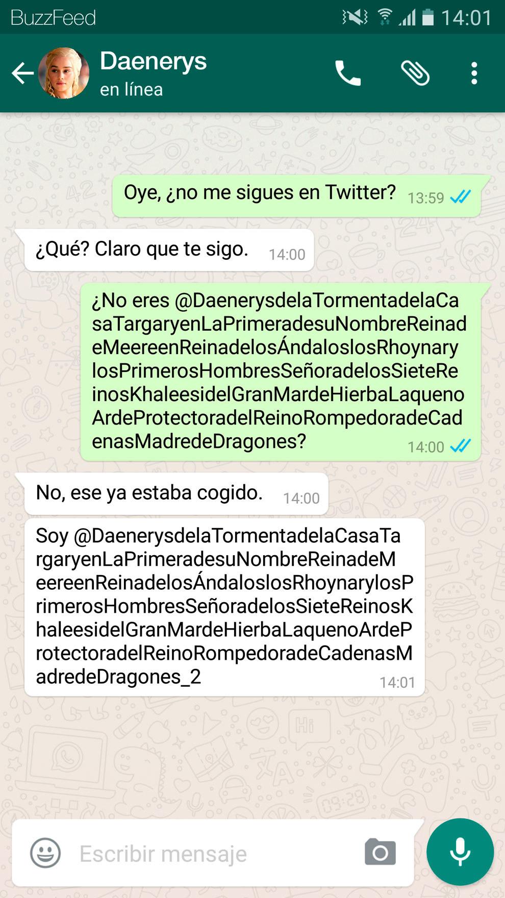 Si Los Personajes De Juego De Tronos Tuvieran Whatsapp Serian