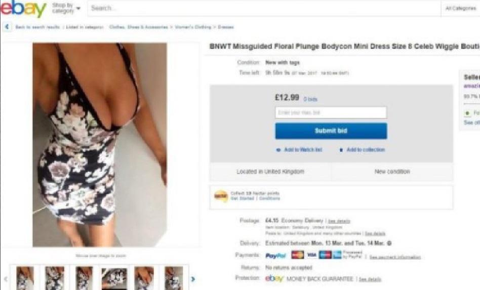 Esta madre de familia se vuelve viral por vender vestidos en Ebay y salir SEXY en las fotos - CABROWORLD