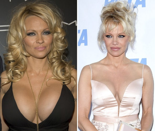 Pamella anderson boobs where learn