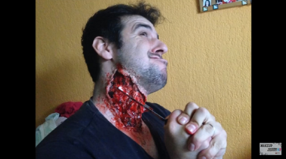 Maquillaje de TERROR, ¡efectos especiales muy fáciles! - CABROWORLD