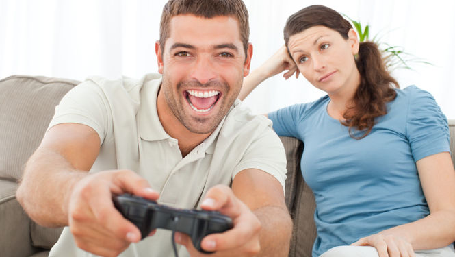 Resultado de imagen para los videojuegos y las relaciones de pareja