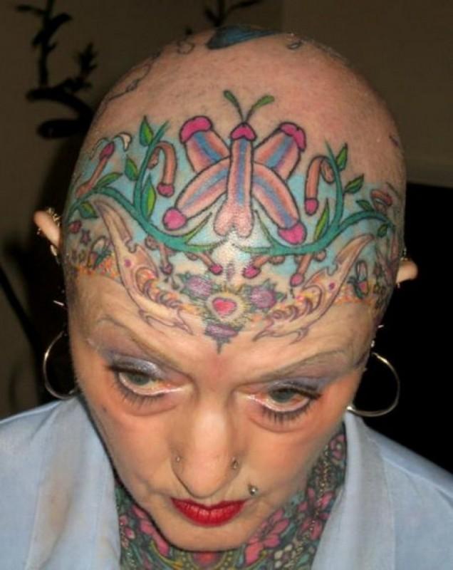 10 Horribles Tatuajes Que No Te Harías Ni Por Todo El Dinero Del