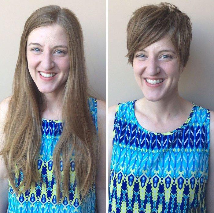 08815cfe14 El antes y el después de varias personas al cambiar su LOOK de forma ...