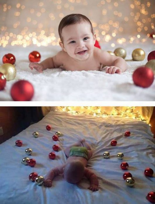 Expectativa vs realidad en fotos de niños pequeños12