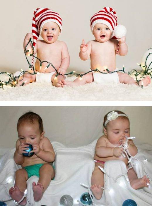 Expectativa vs realidad en fotos de niños pequeños14