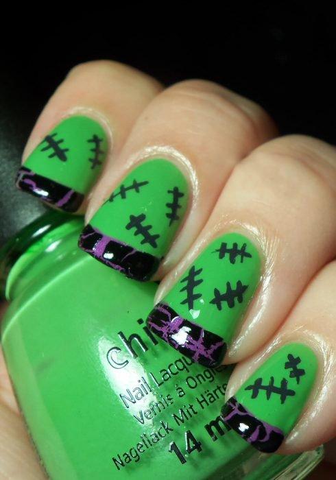Diseños de uñas espeluznantes ideales para HALLOWEEN - CABROWORLD