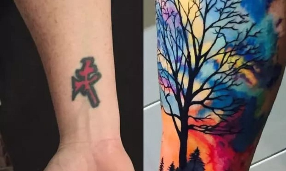 Estas Fotos De Tatuajes Muestran El Poder De Los Cover Up Cabroworld