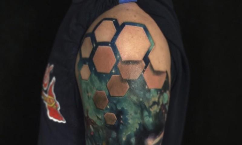 15 Tatuajes Ultra Realistas Con Efectos Que Te Obligaran A Mirarlos